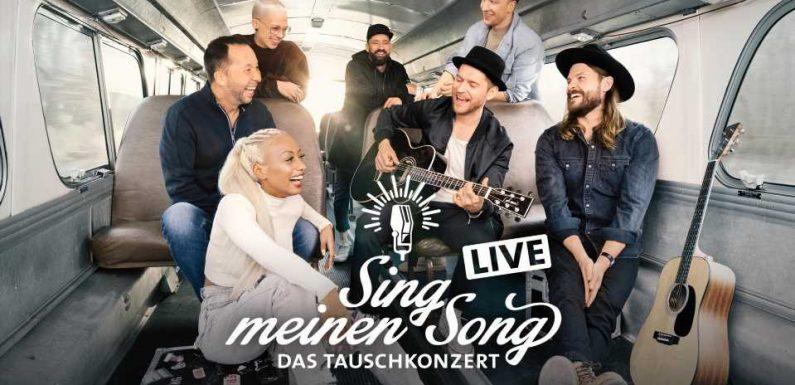 Sing meinen Song 2021: 4 Live-Konzerte mit den Tauschkonzert-Stars der 8. Staffel