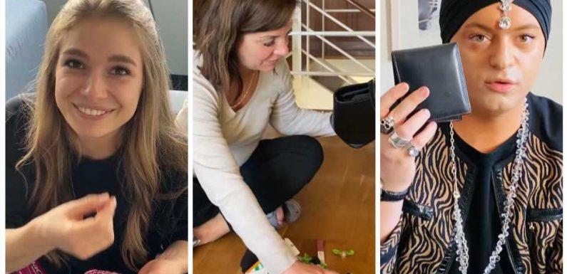 TVNOW-Moderatorin Lola Weippert, Danni Büchner & Co.: Was steckt in den Handtaschen der Promis?