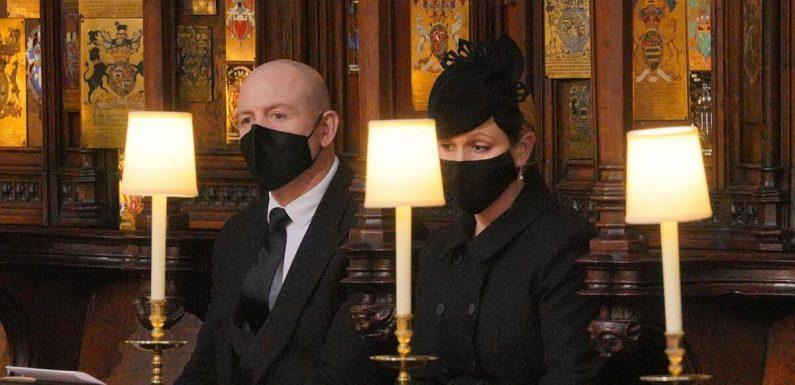 Unheimlich und erstaunlich: So hat Mike Tindall die Beerdigung von Prinz Philip erlebt