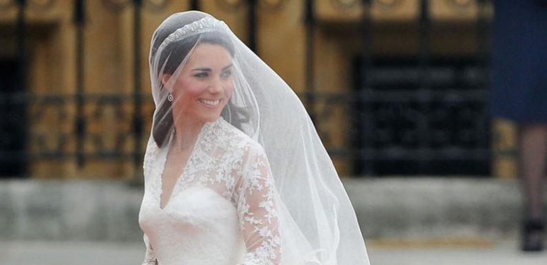 Wie Herzogin Catherine mit ihrem Brautkleid ein ganzes Jahrzehnt prägte