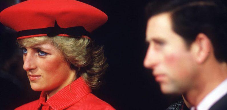 Lady Diana wollte sich nie von Prinz Charles trennen