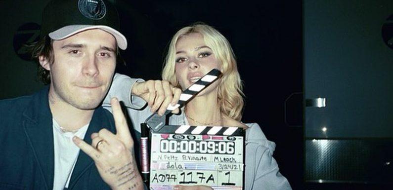 Brooklyn Beckham und seine Nicola machen gemeinsamen Film