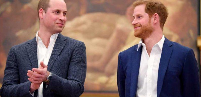 Am Hochzeitstag: So süß witzelte Prinz William über Harry