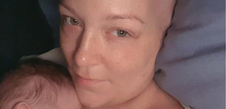 """Junge Mutter Jenny kämpft gegen Leukämie: """"Ich habe einen Spender"""""""