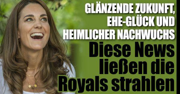 Kate Middleton, Prinz Charles und Co.: Rosige Zukunft, plötzlicher Nachwuchs und unbändige Freude bei den Royals