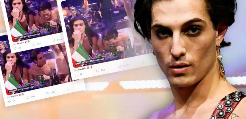 Koks-Skandal beim Eurovision Song Contest: Måneskin soll im Live-TV Drogen konsumiert haben