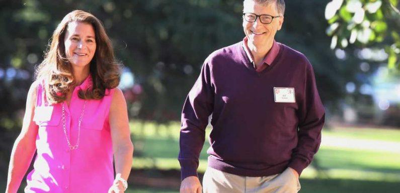 Lebten Melinda und Bill Gates in verschiedenen Hausflügeln?