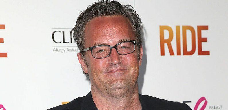 Matthew Perry verkauft 'Friends'-Merchandise mit Chandler-Sprüchen