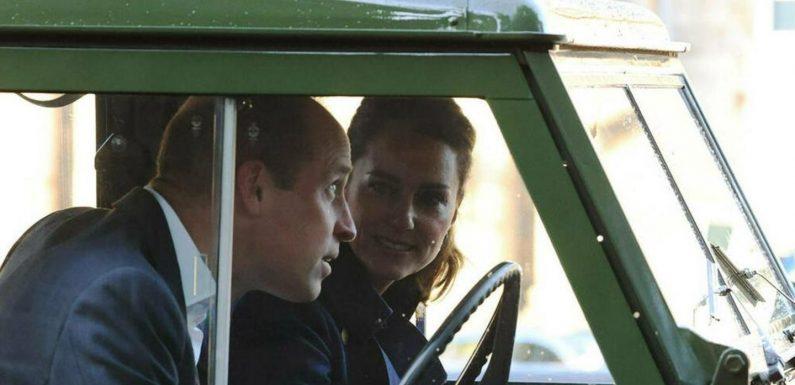 Mit Prinz Philips Oldtimer im Autokino