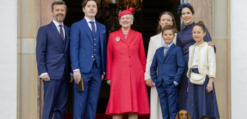 Prinz Christian von Dänemark wurde konfirmiert