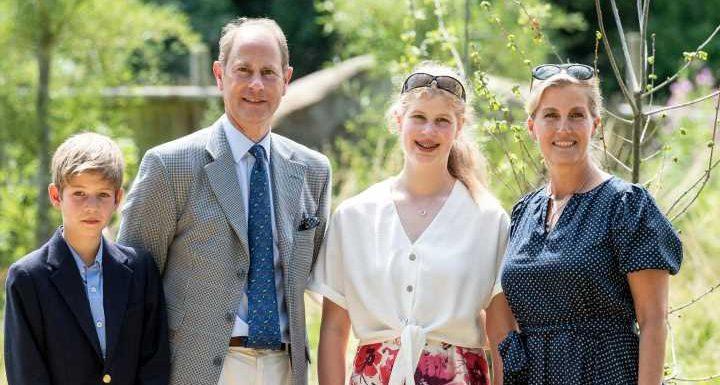 Werden ihre Kinder James und Louise Königliche Hoheiten?