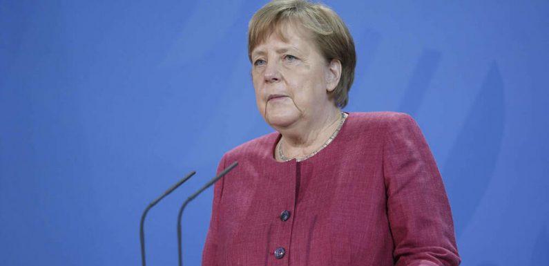 Angela Merkel drückt dem DFB-Team für die EM die Daumen