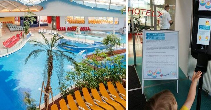 Ein Familien-Kurzurlaub in der H2O-Therme: Baden und Action im Zeichen von 3G