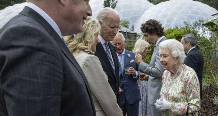 Ein entspannter Abend mit Joe Biden