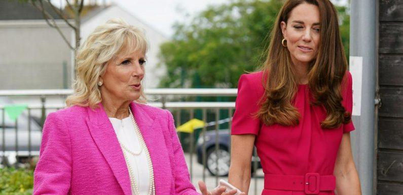 First Lady trifft Herzogin Kate
