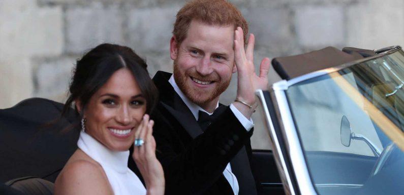 Herzogin Meghans und Prinz Harrys Tochter ist da: Jetzt reagiert die Promi-Welt