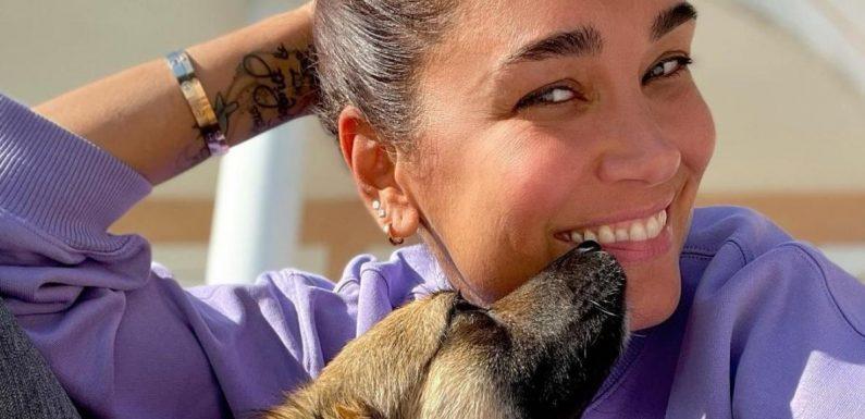 Jana Ina Zarrella schwärmt: Hundedame Cici ist wie ihr drittes Kind