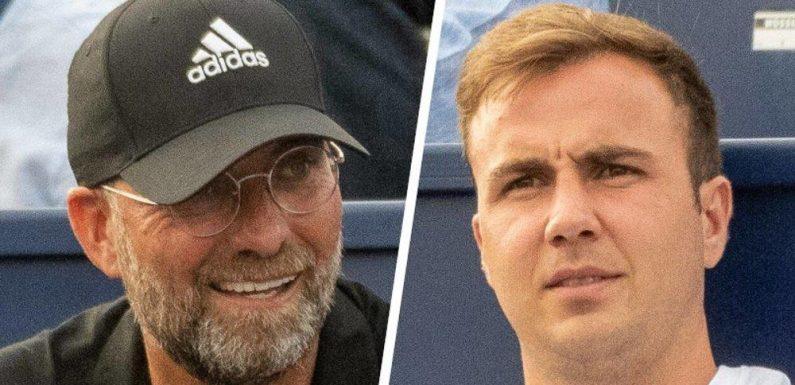 Jürgen Klopp und Mario Götze besuchen Tennis-Turnier auf Mallorca