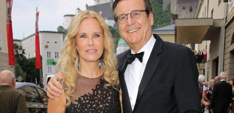 Katja Burkard teilt seltenes Selfie mit ihrem Mann