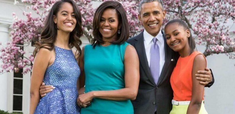 Michelle und Barack Obama: Liebevolle Zeilen für Tochter Sasha