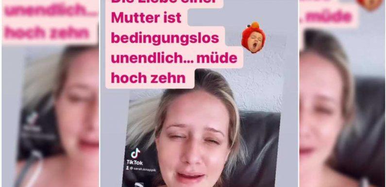 "Neu-Mama Sarah Knappik: ""Ich bin SO müde!"""