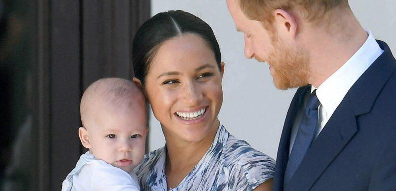 Prinz Harry und Herzogin Meghan haben Archie auf das Baby vorbereitet