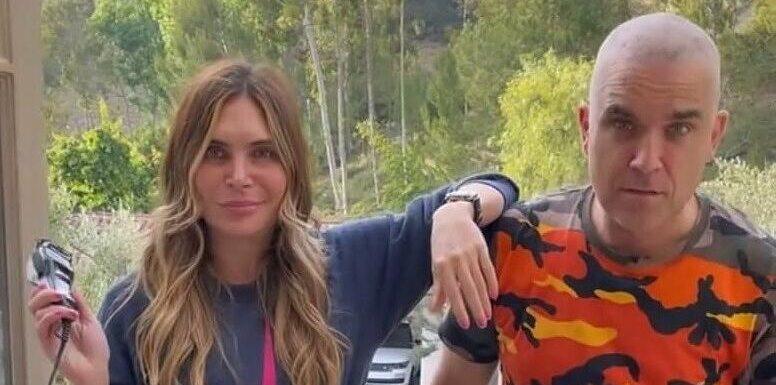 Robbie Williams trägt jetzt Glatze: Ehefrau rasierte ihm Haare ab