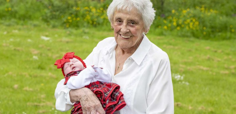 Schottlands erste Ururur-Oma: Mary (86) hat 90 Enkelkinder