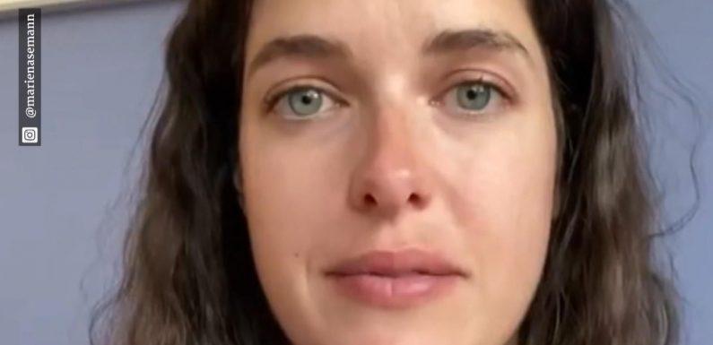 Schwangere Marie Nasemann in Tränen aufgelöst bei Instagram