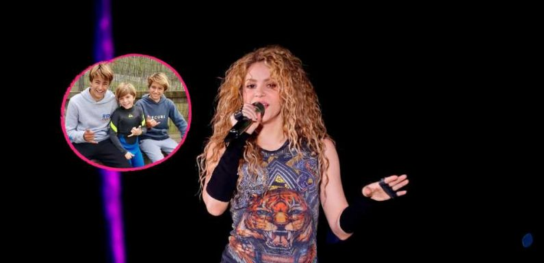Seltener Einblick: Shakiras Sohn Sasha lernt jetzt surfen