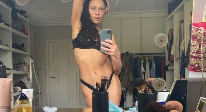 Sexy Schnappschuss: Lilly Becker zeigt ihre Kurven