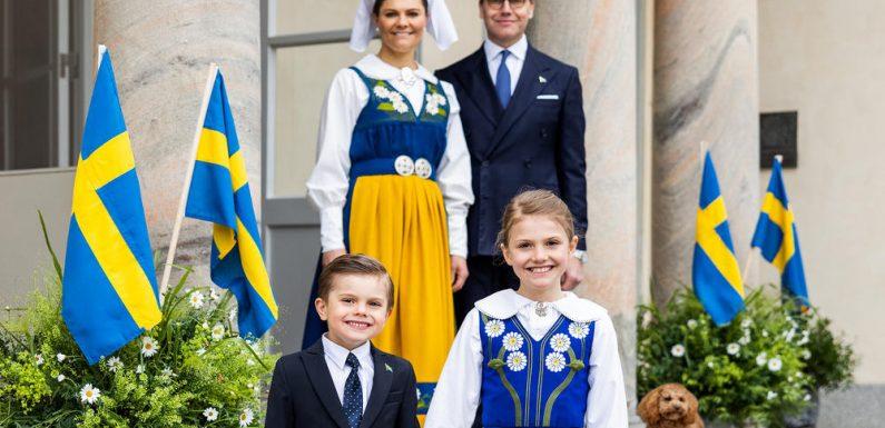 Victoria von Schweden feiert mit der Familie