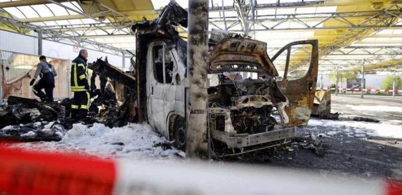 Willi Herrens Reibekuchen-Stand: Ermittler gehen von Brandstiftung aus