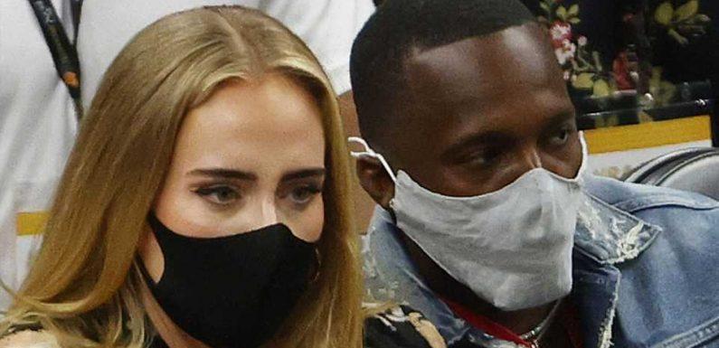 Bei NBA-Spiel: Datet Adele jetzt etwa LeBron James' Agenten?