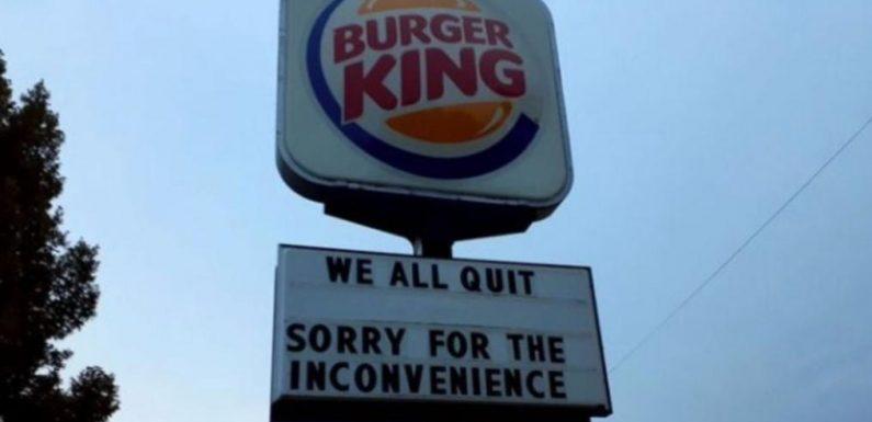 """Burger King: """"Wir haben alle gekündigt"""" – Filiale verliert alle Mitarbeiter auf einmal"""