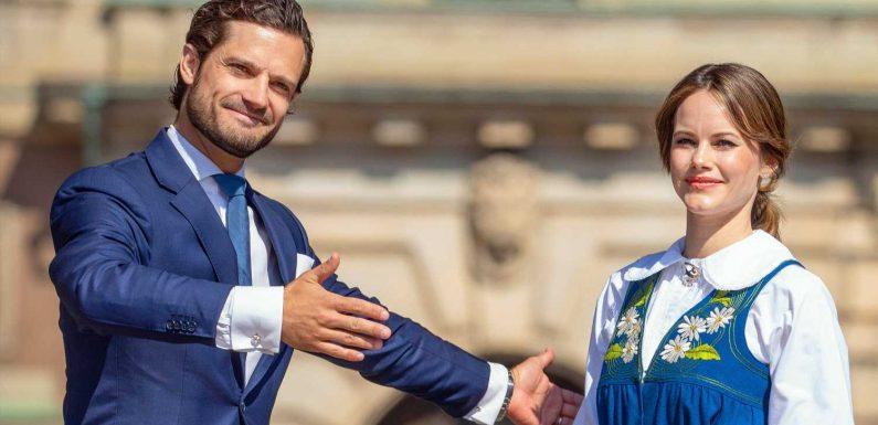 Carl Philip und Sofia: Schweden-Royals zeigen das erste Familienfoto zu fünft