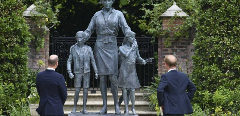 Diana-Statue von Harry und William enthüllt – doch wer sind die 3 Kinder neben ihr?