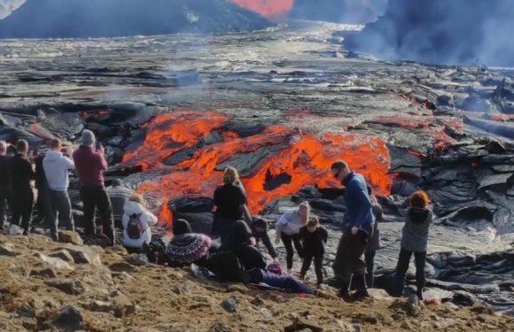 Ein Foto vor glühender Lava? Wie leichtsinnige Touristen sich dafür in Gefahr begeben