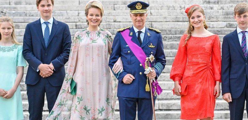 Elisabeth von Belgien tauscht ihre Uniform gegen ein Traumkleid
