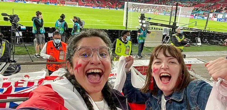 Frau meldet sich krank, um zu EM-Spiel zu gehen: Im Stadion wird sie jedoch gefilmt – Job weg!
