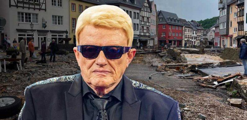 """Heinos Heimatstadt Bad Münstereifel ist zerstört: """"Ich bin sehr erschüttert!"""""""