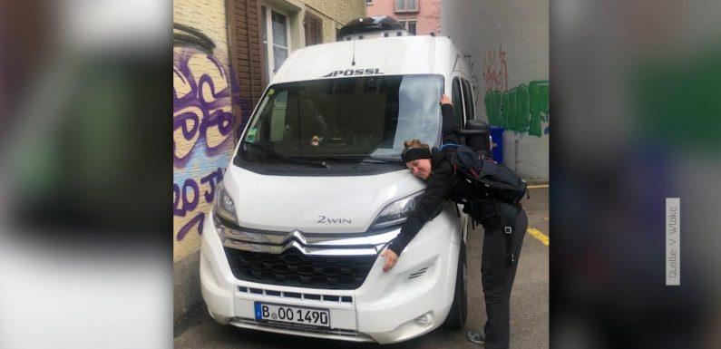 """Ich will meinen Camper zurück! Berlinerin sucht ihren """"Roady"""""""