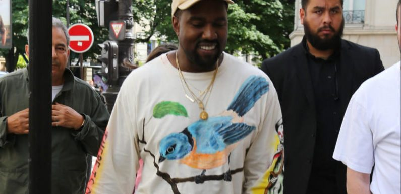 Kanye West: Mit Skimaske bei Fashionshow