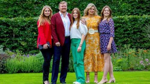 König Willem-Alexander und Königin Máxima: Ihre Töchter sind schon echte Fashionistas