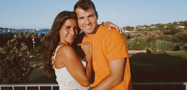 Lernten Sarah und Julian Engels sich über Dating-App kennen?