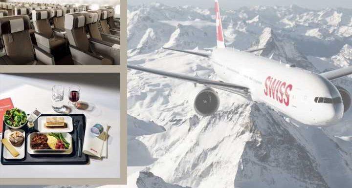 Neue Premium Economy Class in der Swiss Air