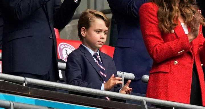 Prinz George: Er ist seinen Shorts entwachsen