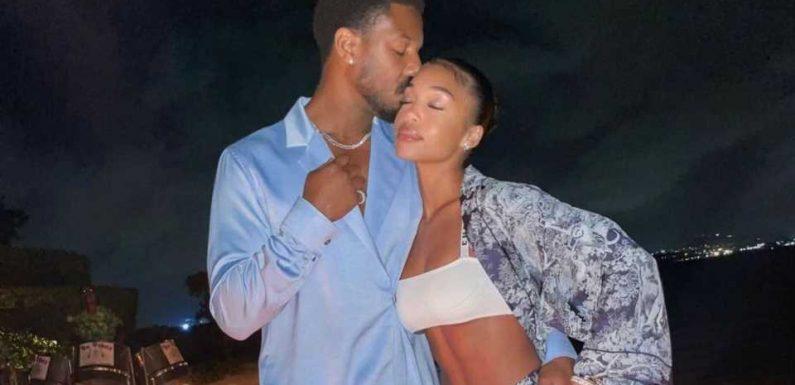 Romantisch: Michael B. Jordan turtelt mit Freundin Lori rum