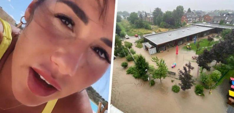Sarah Engels bangt wegen Flut um ihr Heim