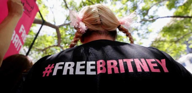 "Wiener Musiker zeigt Flagge mit Song ""#FreeBritney"""
